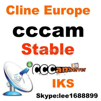 1pcs wholesale iks cccam cline account server for 1 year validity Europe channels experience a free trial for one day
