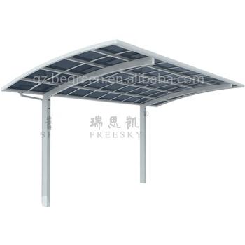 DIY Easy Assemble Aluminum Car Shelter Used Metal Carports Sale