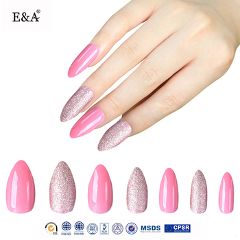 Ea Brand Fengshangmei Free Sample Nail Art Air Brush Acrylic Tip False Nails Sets