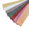 New Product 3 Inch Wide Glitter Vinyl Fabric Hair Bow Ribbon Wholesale