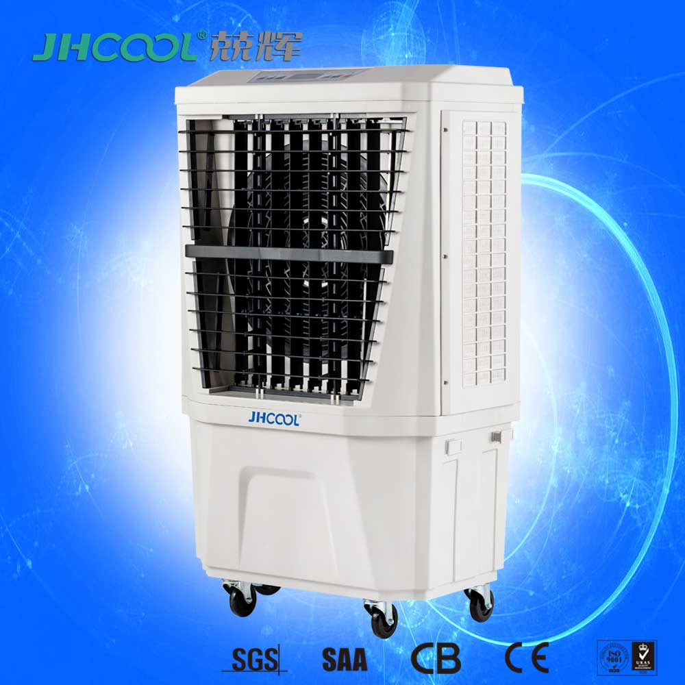 Plastic Body Mobile Air Conditioner With Motor Air Cooler Fan Used Inside/Outside Places