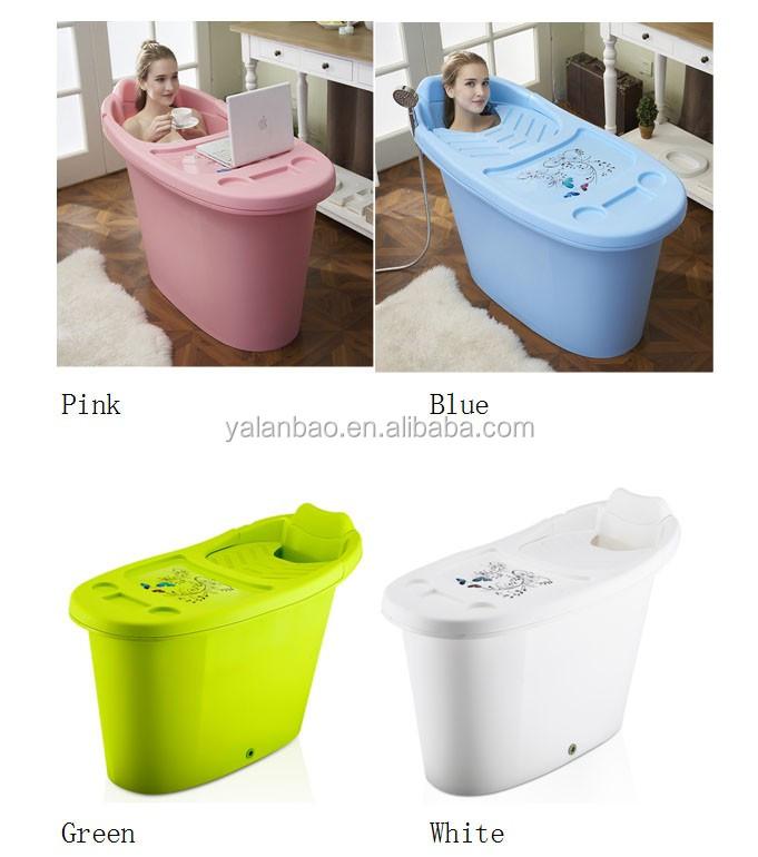 Portable Plastic Bathtub For Adults Folding Tub Spa Bathtub - Buy ...