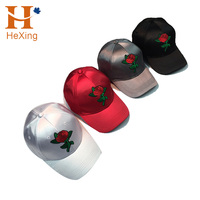 Hot Fashion ladies' hats Satin Fabric Baseball Caps