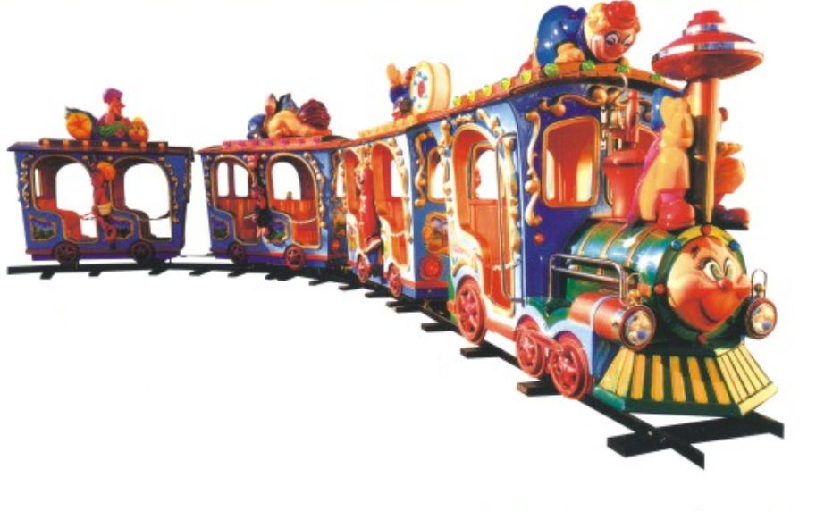 High Quality Children's Amusement Park Track Train