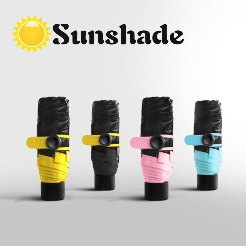 1pc Mini Pocket Umbrella Women s Sunny Rainy Folding Ultra-light Umbrellas  Outdoor Anti-UV Parasol Rain Umbrella Car-styling A35 c28f526b66a7