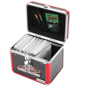 ALUMINIUM CD / DVD STORAGE DJ FLIGHT CASE
