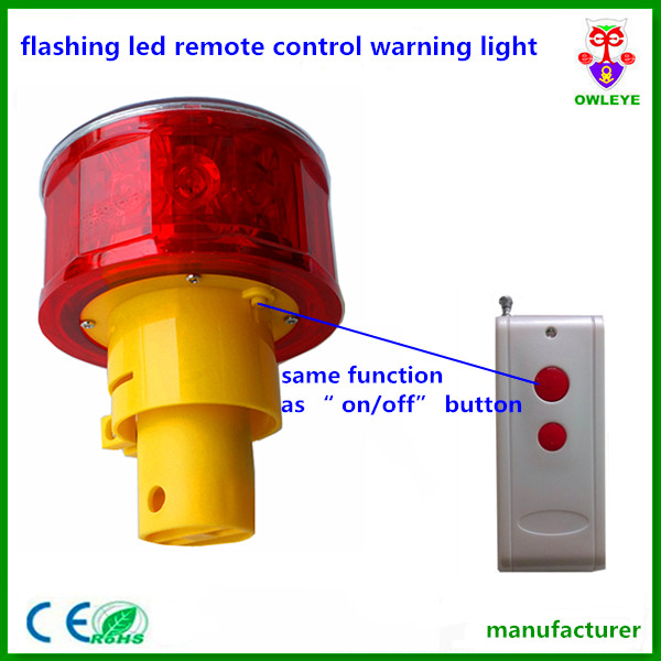 Flashing Led Remote Control Warning Light Remote
