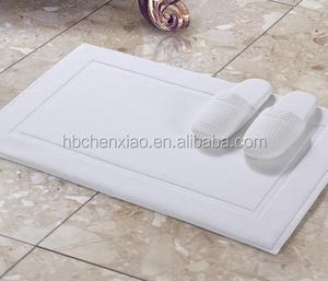 Bathroom Microfiber Bath Mat Waterproof Rug Non Slip Floor
