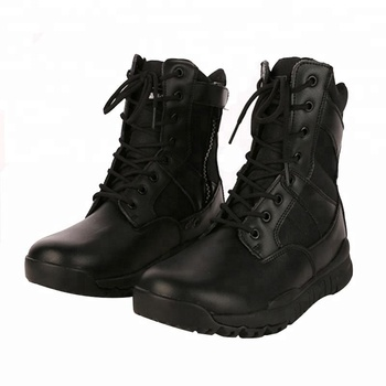 12c63e64902 Black Leather Swat Combat Military Boots For Men - Buy Cheap Military  Combat Boots,Swat Combat Boots,Combat Military Boots Product on Alibaba.com