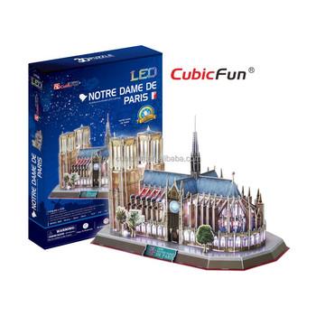 3d Puzzle France Notre Dame De Paris World Famous Architecture ...