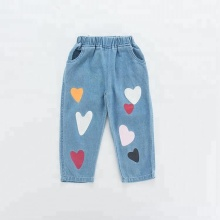 Printed Children Pants/Kids Demin Trousers