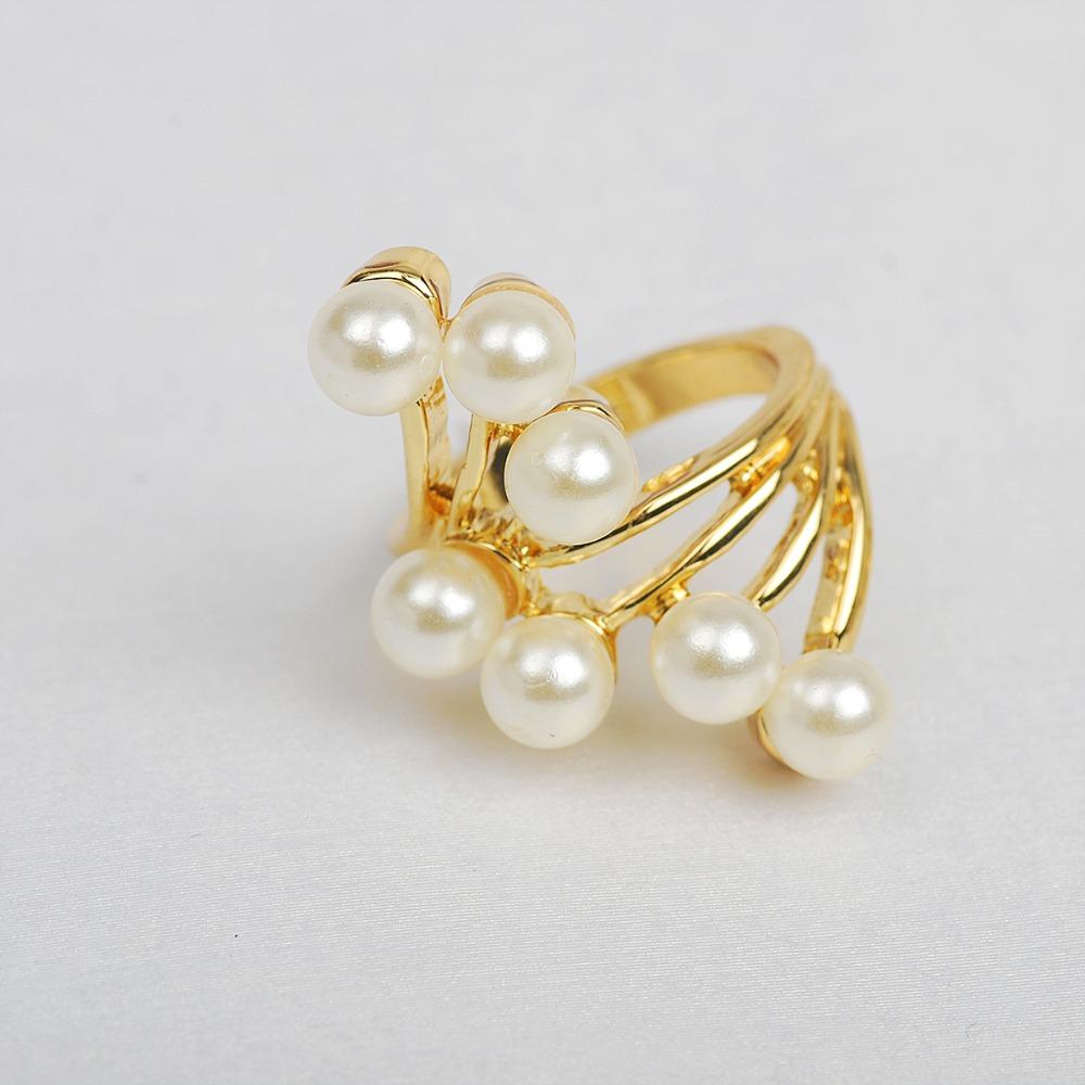 Smart Pearl Ring Latest Gold Ring Design For Female Dubal Ring ...