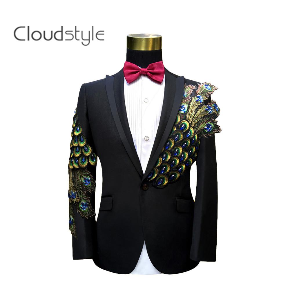 Compra Trajes de boda para hombres negro rojo online al