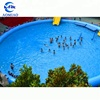 Big floating inflatable boat swimming pool best selling swimming pool inflatable for playing