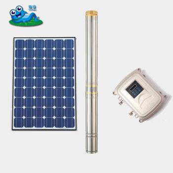 3 Zoll 4 Zoll 1500 Watt Dc Solarwasser-pumpen Tief Bore Nun ...