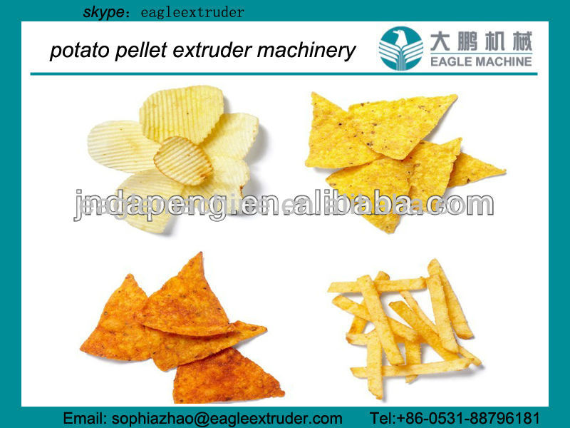 250kg/h Tortilla Chips/Nachos Chips Making machine/machinery