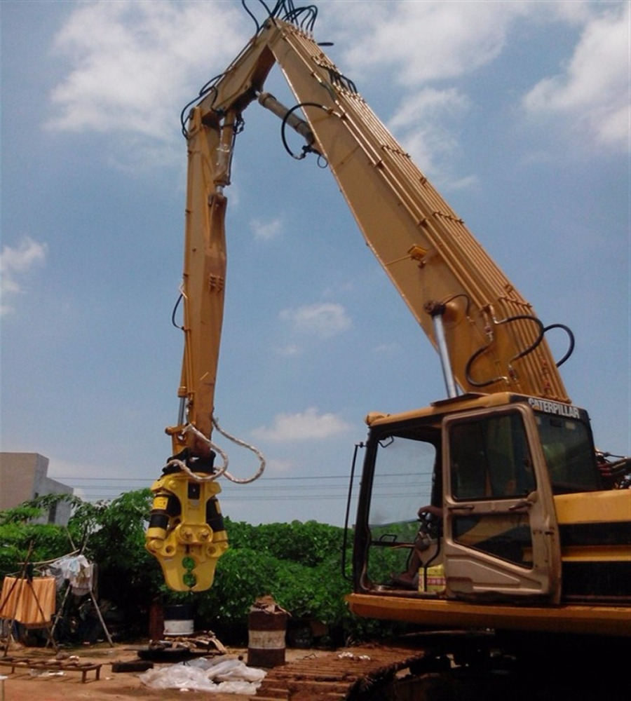China excavator parts high reach demolition boom for port construction, etc