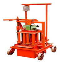 Reliable factory for QMY2-45 Manual mini manual block and brick making machines selling