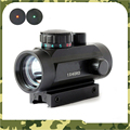 1X40 Tactical Holographic Red Green Dot Rifle scope Sight For 11mm 20mm Picatinny Weaver Mount Optical