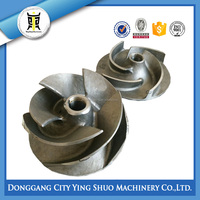 OEM sand precision casting stainless steel impeller