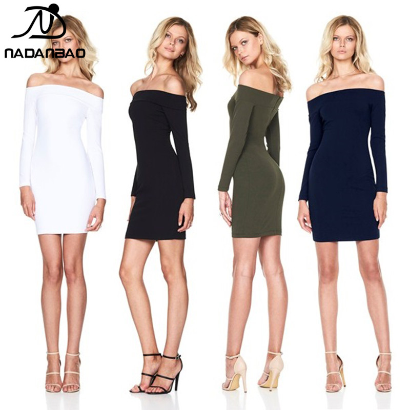 NADANBAO Brand 2019 <strong>western</strong> style <strong>women</strong> sexy casual <strong>dress</strong> ladies <strong>dress</strong> fashion strapless above knee sexy <strong>dress</strong>