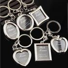 Creative Mini Photo Frame Metal Lovers Keychain Wedding Photography Photo