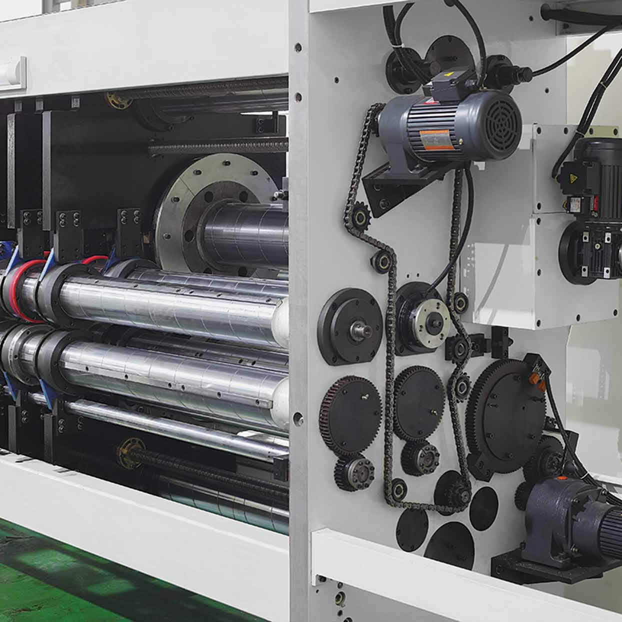 Automatic Printing Slotting Rotary Die-cutting machine for making cartonbox