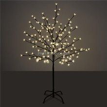 color changing led cherry blossom cherry ball tree light, outdoor led tree lights