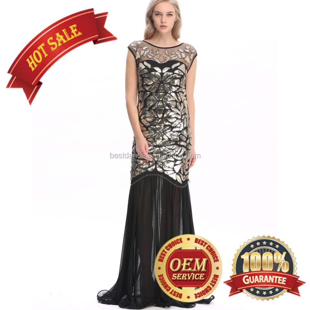 Bestdance 1920s Retro Dress Flapper Gatsby Dress 30s Party Dress ...