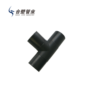 High Quality HDPE Pipe Fittings Price List Reducing Welding Tee for Water  Supply