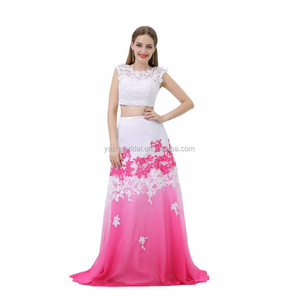 Venta al por mayor vestido de fiesta largo de gasa-Compre online los ...