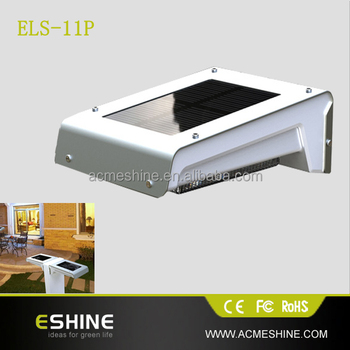 Replacement Outdoor Wall Solar Light Led Panel With Motion