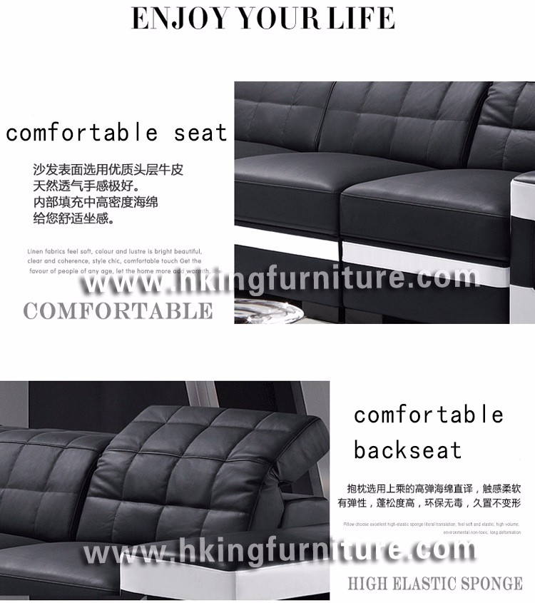2017 Modern New Design Black And White Sofa Set Designs And Prices, Black  And White