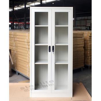 High Quality Cheap Storage Kd Glass Door Locker Used Medical