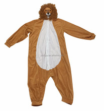 China factory direct sale plush animal lion adult costume