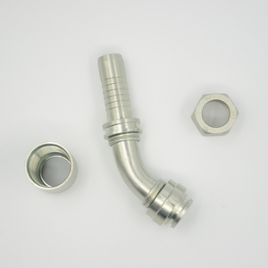 90 Degree Wholesale Reusable Stainless Steel Tractor Hydraulic Union High Pressure Pipe Fitting Bulkhead Fitting Tool
