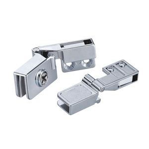 Chrome/Gold plated zinc alloy mirror cabinet glass door hinge