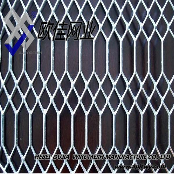 Malla de metal desplegado de acero inoxidable de malla - Malla de acero galvanizado ...