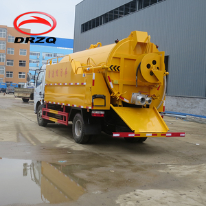 4*2 sewage sludge vacuum tank truck, waste water suction truck for sale
