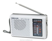 World AM FM Stations Receive battery operated type Portable campus broadcasting radio