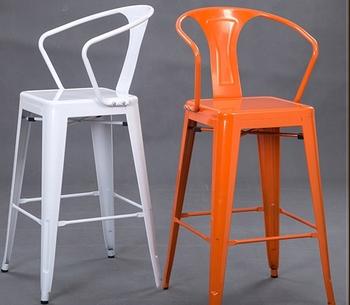 Loft Industrial Outdoor Bar Chair High Back Vintage Bar Stool Buy