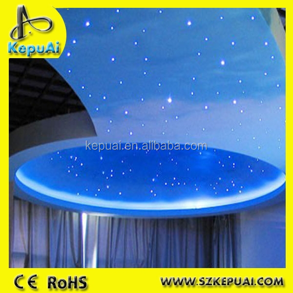 star cloth led fiber optic starry sky ceiling lights for sale