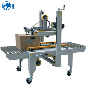 Factory Price Up and Down Cardboard Folding Machine / Carton Box Sealing And Packing Machine