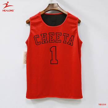 aade39250 Custom Sublimated Reversible Red Black Basketball Jersey Uniform Wear  Basketball Uniforms