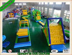 Hot sale Inflatable Water park Aqua Playground Water toys Projects for adults and kids playing