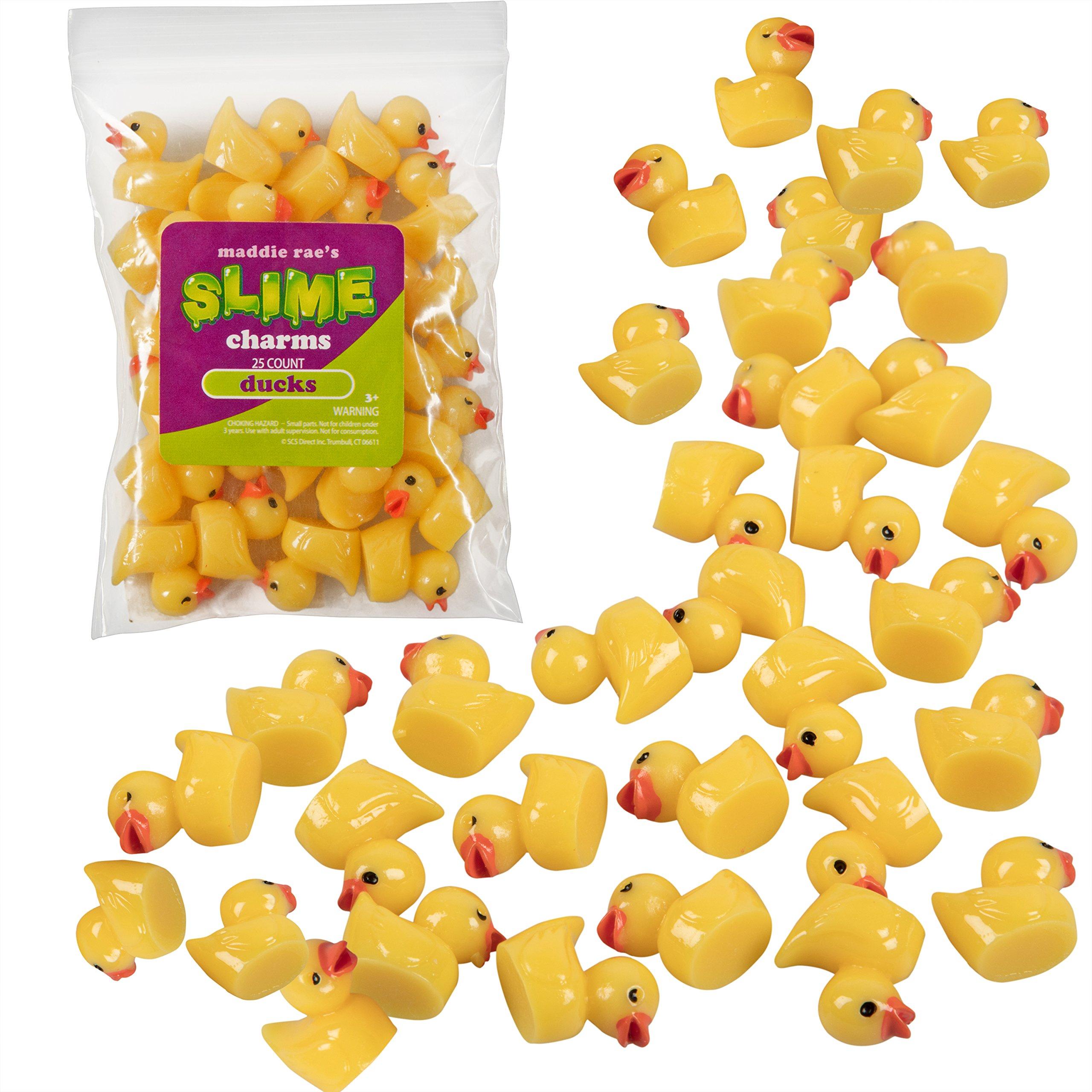 Maddie Rae's Slime Charms, Ducks 25 pcs of Slime Beads