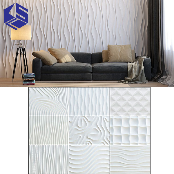 High quality 3d mdf wall relief decoration for modern decor