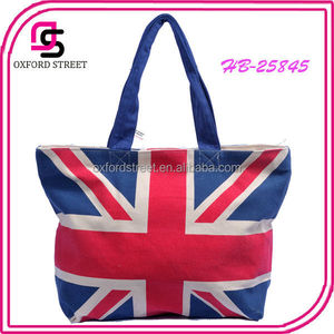 Made In China Wholesale Union Jack Tote Handbag