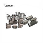 "water malleable iron pipe fitting union galvanized npt 1/2"" pipe nipple metal pipe fittings for plumbing water supplying"