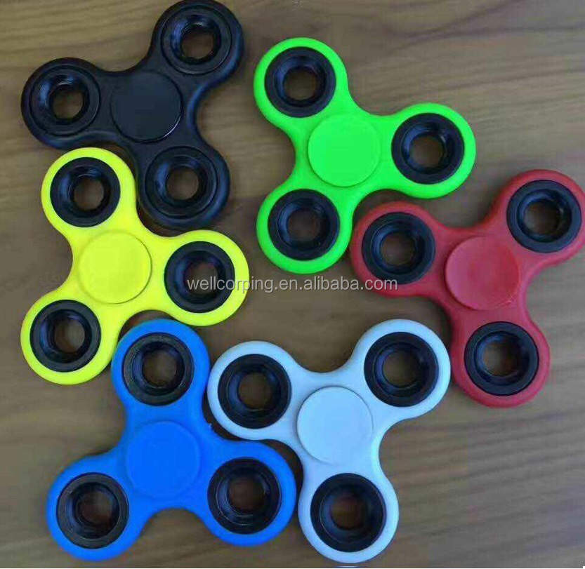 Wellcore manufacture fidget toy finger spinner with Steel Bearing figet spinner